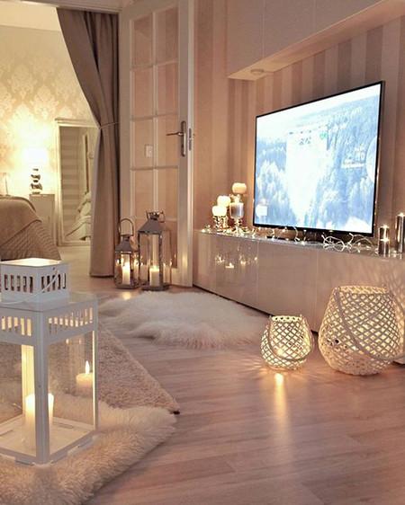 17 Ideas Para Decorar La Casa Con Guirnaldas De Luces Sin