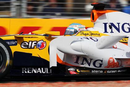 """Alonso: """"Otro que apretó el limitador de velocidad"""""""