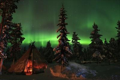 Suecia lleva las auroras boreales de paseo por Europa