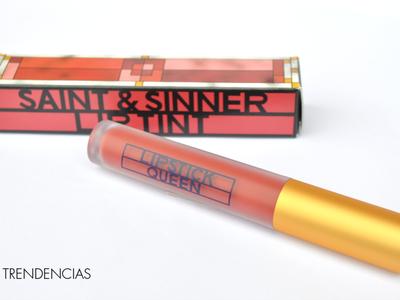 Probamos el Saint & Sinner Lip Tint de Lipstick Queen