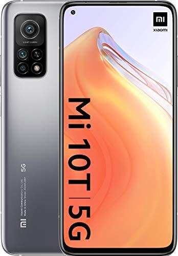 """Móvil - Xiaomi MI 10 T, Plata, 128 GB, 6 GB, 6.67"""" Full HD+, Qualcomm Snapdragon 865, 5000 mAh, Android"""