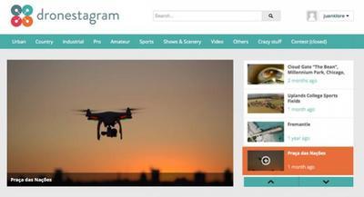 Dronestagram, el servicio on-line que no te puedes perder si te interesan las fotos tomadas con drones