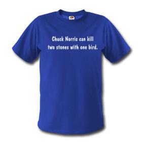 Camiseta para fanáticos de Chuck Norris