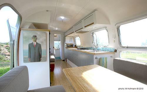 Casas poco convencionales: una caravana con mucho estilo
