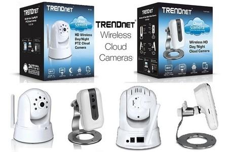 TRENDnet presenta 4 interesantes cámaras de vigilancia inalámbricas