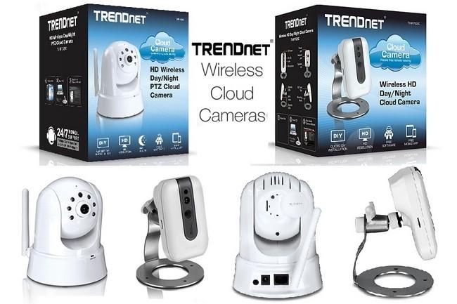 Trendnet presenta 4 interesantes c maras de vigilancia - Camaras de vigilancia inalambricas ...
