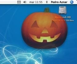 La calabaza de Halloween, también en tu escritorio