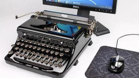 USB Typewriter, teclado con forma de máquina de escribir para los más nostálgicos