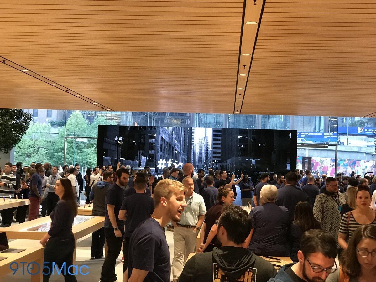 Foto de Nueva Apple Store en la Avenida Michigan de Chicago (4/11)