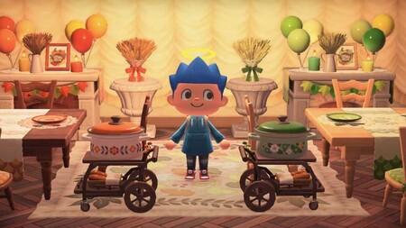 Animal Crossing: New Horizons: todos los proyectos y materiales del set del Día del Pavo