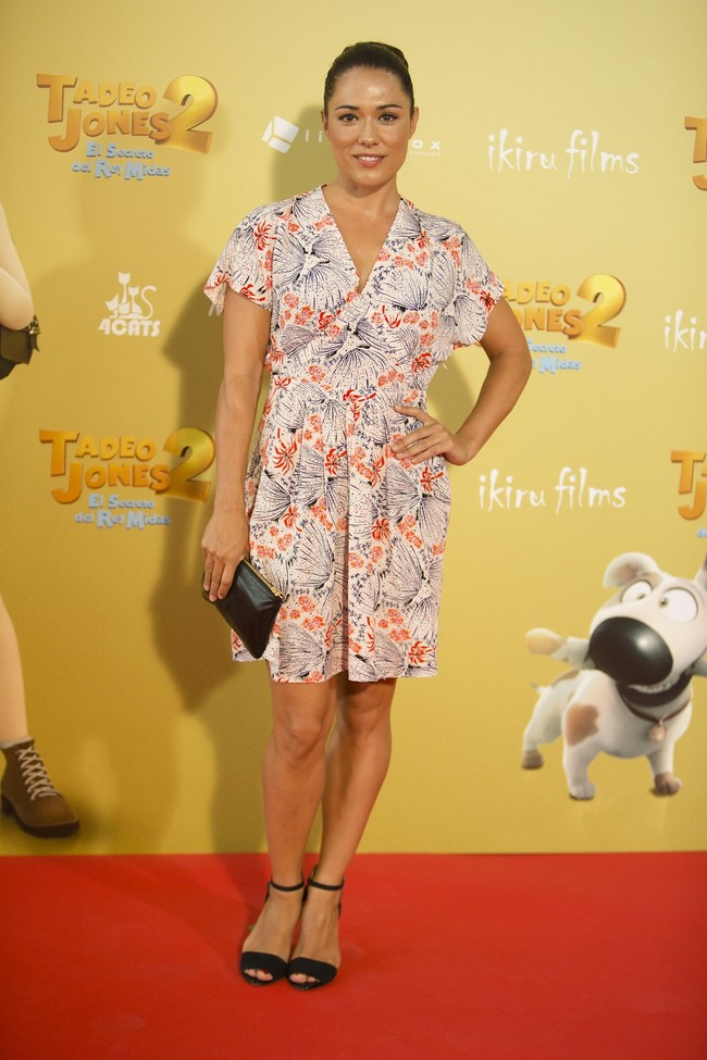 premiere tadeo jones 2 estreno madrid look estilismo outfit celebrity eva marciel