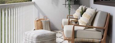 Última llamada para renovar tu terraza: estos muebles rebajados en El Corte Inglés son perfectos para esos espacios pequeños