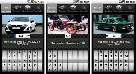 'Matrículas', una aplicación que nos devuelve más que los datos de matriculación de los coches