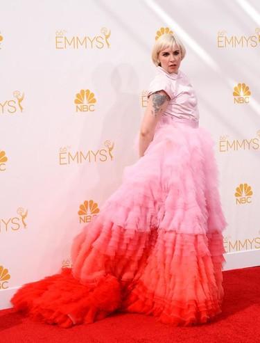 Lena Dunham es la golosina de Valli de los #Emmys2014