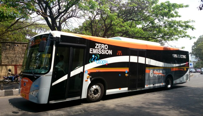 Electric Buses In Bangalore By Bmtc 13938784383