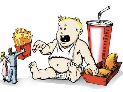 La tendencia a ser obeso se podría transmitir de padre a hijos a través del esperma
