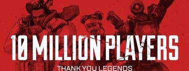 Una muerte, un éxito: Apex Legends consigue 10 millones de jugadores en solo tres días