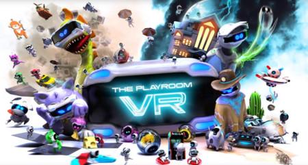 Este es el tráiler de The PlayRoom VR, el Nintendo Land de PlayStation VR