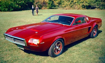 Mustang mach 1 concept