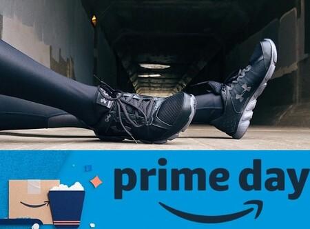 Chollos en tallas sueltas de ropa deportiva y zapatillas Under Armour en el Prime Day de Amazon 2020