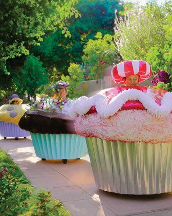 Customized Cupcake Car