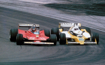 Dijon 1979 Gilles Villeneuve René Arnoux