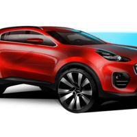 La nueva generación del KIA Sportage se presentará en septiembre, y se verá (más o menos) así