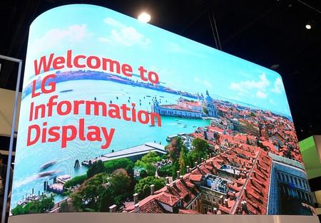 Estas impresionantes pantallas de LG para el mercado profesional nos dan una idea de lo que podríamos tener en casa dentro en unos años