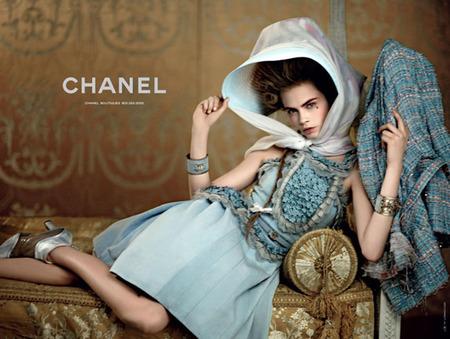 Colección Crucero 2013: los fastos y oropeles de Versalles vistos por Chanel