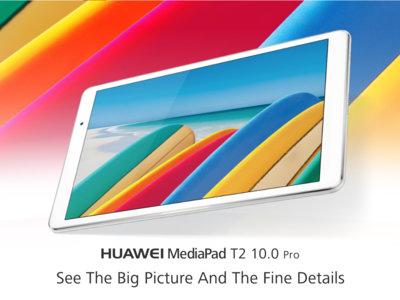 Huawei MediaPad T2 10.0 Pro, toda la información