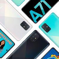 El Samsung Galaxy A71 llega a España: éstos son su precio y disponibilidad