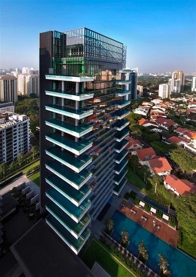 El primer apartamento by Hermès se encuentra en Singapore