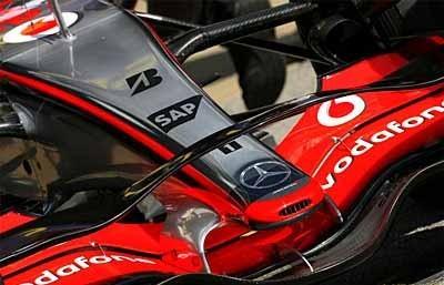 El nuevo alerón de McLaren será vigilado de cerca