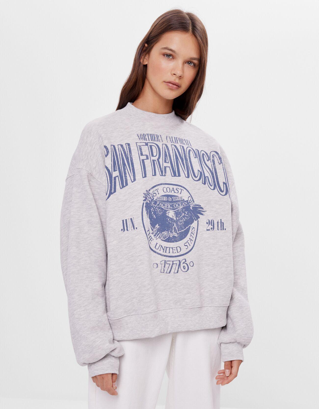 Sudadera con estampado de San Francisco