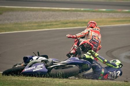 Marc Marquez Valentino Rossi Motogp Argentina 2018