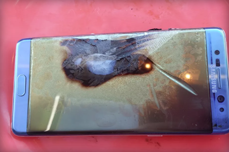 Galaxy Note 7 Cuarto Caso Accidente