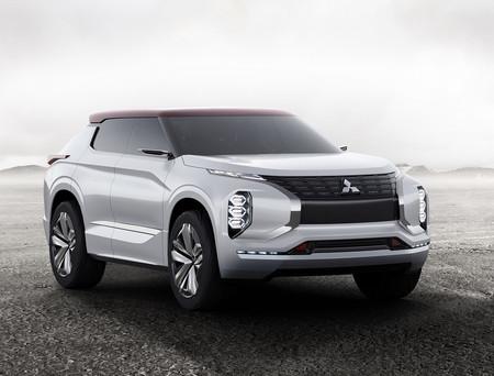 SUV, PHEV y coupé, veamos las fotos del Mitsubishi Ground Tourer-PHEV Concept