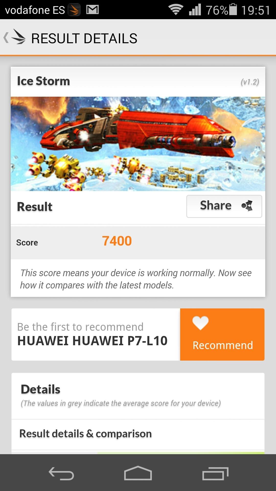 Foto de Benchmarks Huawei Ascend P7 (12/14)