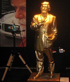 Tu escultura en oro
