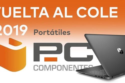 Las mejores ofertas en portátiles HP, LG, Acer o ASUS en la Vuelta al Cole de PcComponentes (2019)