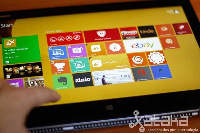 Foto de Lenovo IdeaPad Yoga 2 Pro (15/31)