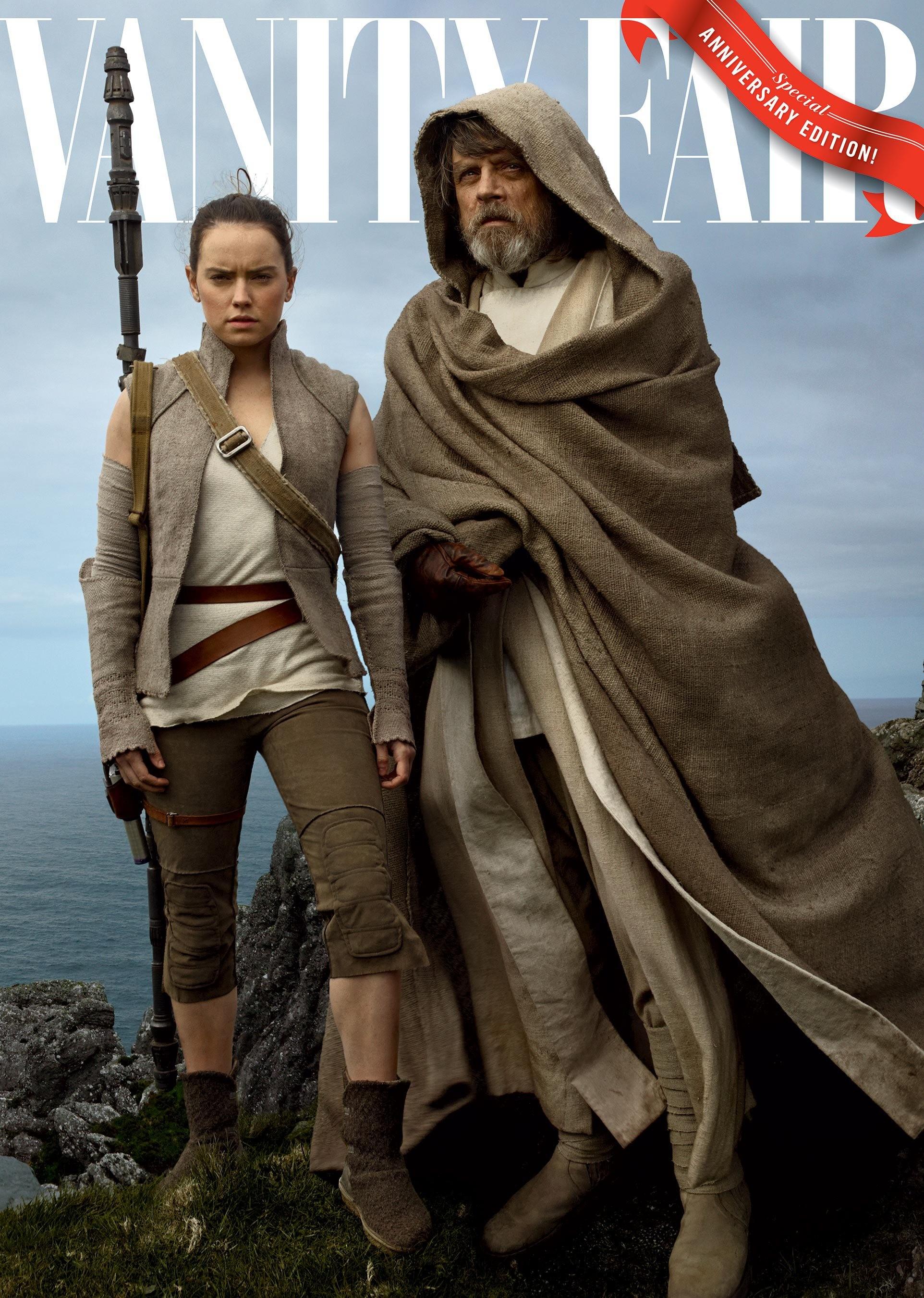 Foto de Annie Leibovitz retrata a los personajes de 'Star Wars: Los últimos jedi' (2/4)