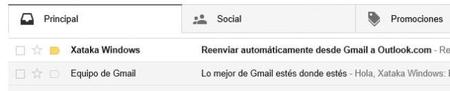 Correo outlook a gmail