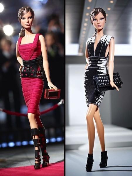 La Barbie más fashion ahora se rinde ante Herve Leger