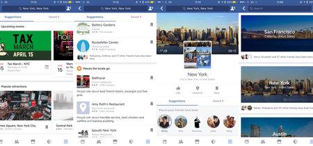 Facebook también quiere ser tu guía local ofreciendo sugerencias de eventos y lugares que visitar