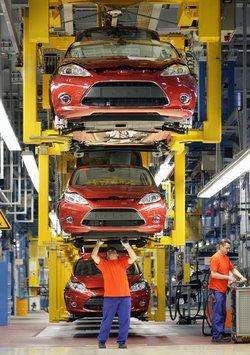 La producción del Ford Fiesta, a toda máquina
