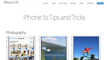 ¿Quieres prepararte para la llegada de los nuevos iPhone? Apple habilita un apartado de trucos en su Web