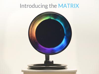 Matrix existe, es redonda y tiene 15 sensores para la Internet de las cosas