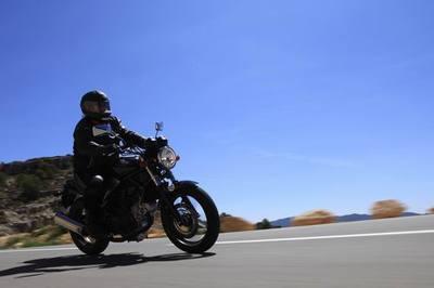 Honda VTR 250, la prueba (3/4). Una moto sorprendente.