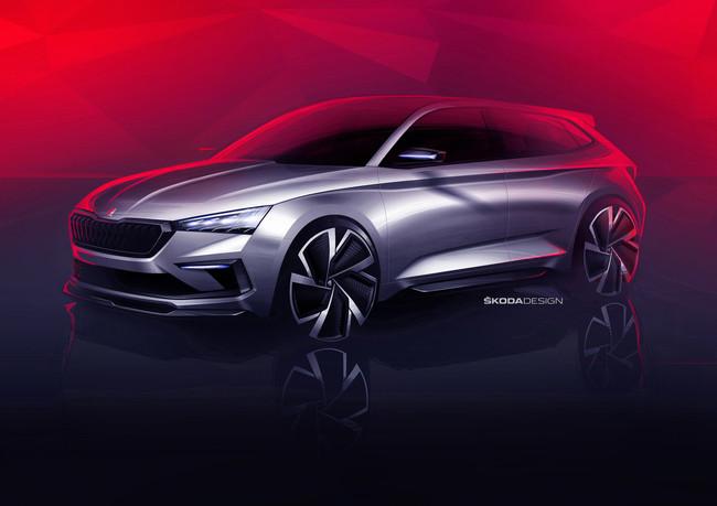 Škoda Vision RS: aquí nace el futuro compacto deportivo checo